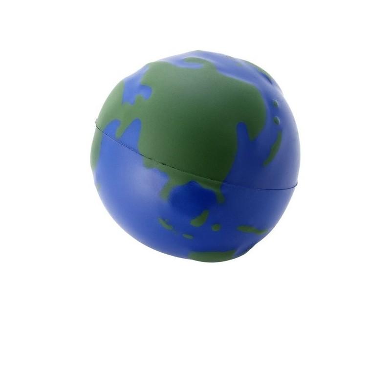 Balle anti-stress Globe - Bullet à prix de gros - Antistress en mousse à prix grossiste