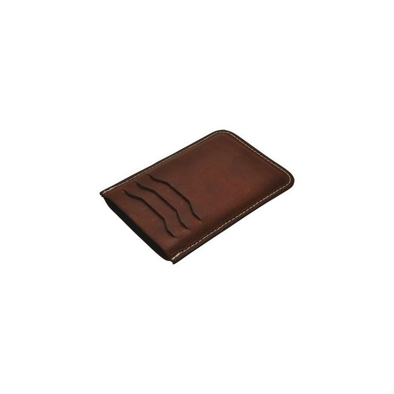 Etui / porte carte en cuir pour chargeur nomade - Etui à prix de gros