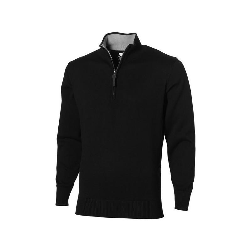 Pullover quart zippé Set - Slazenger - Pull homme à prix grossiste