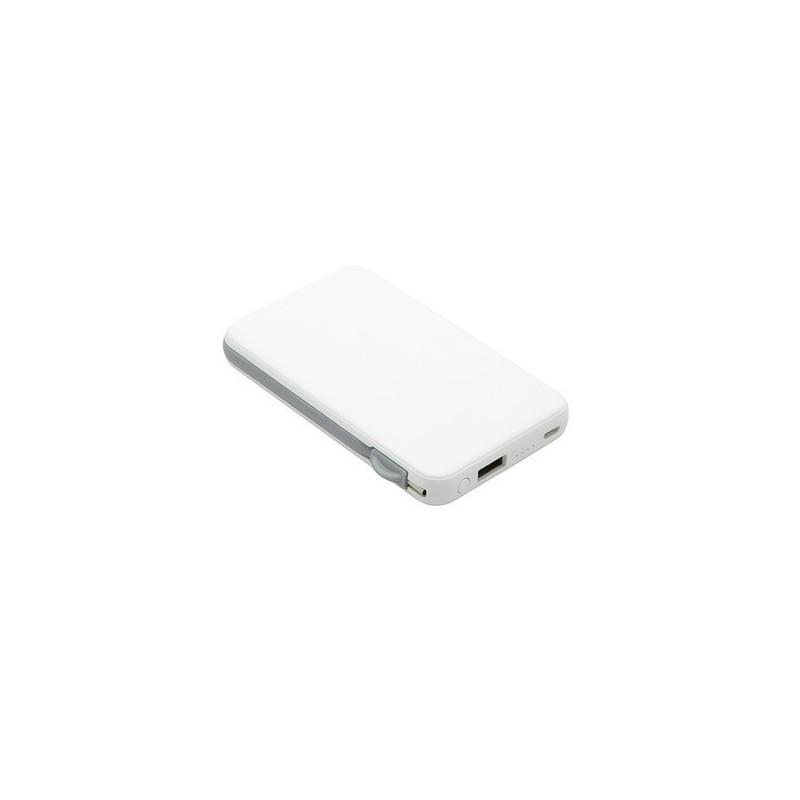 Chargeur nomade 'Pocket +', 5000 mAh à prix grossiste - Chargeur de téléphone à prix de gros