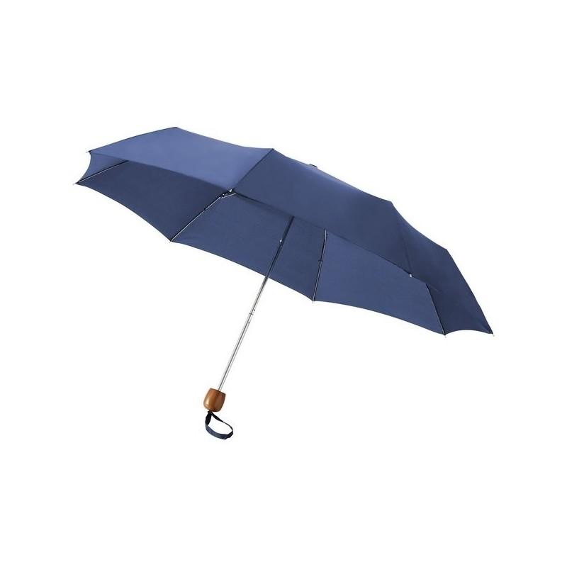 Parapluie pliable 21,5 Lino - Bullet à prix de gros - Parapluie compact à prix grossiste