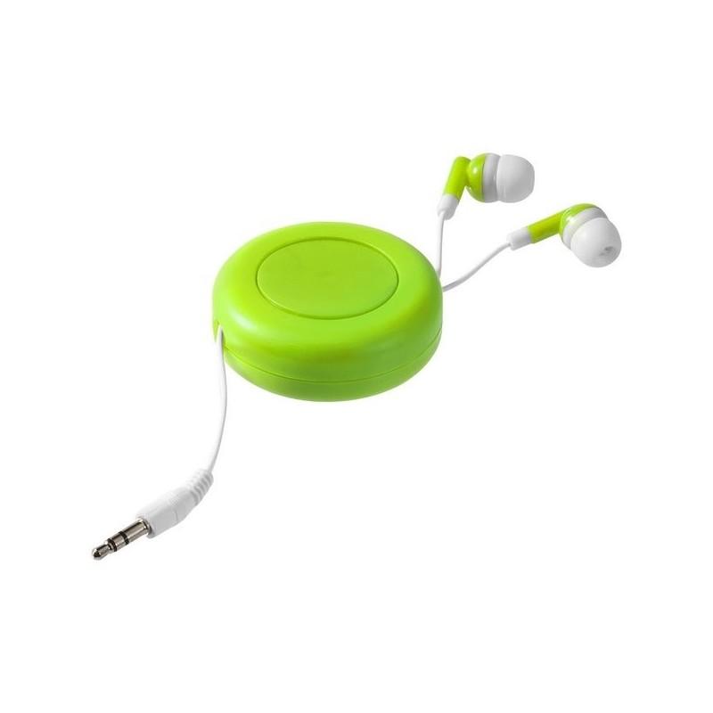 Écouteurs rétractables Reely - Bullet à prix de gros - écouteurs filaires à prix grossiste