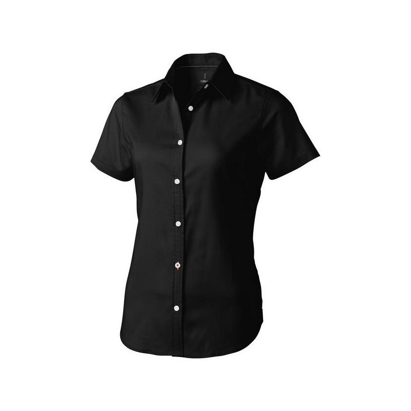 Chemise oxford manches courtes femme Manitoba - Elevate - Cardigan / gilet à prix grossiste