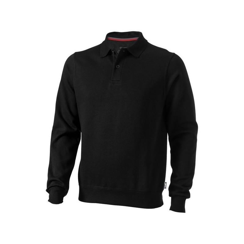 Sweater col polo Referee - Slazenger - Polo manches longues à prix grossiste