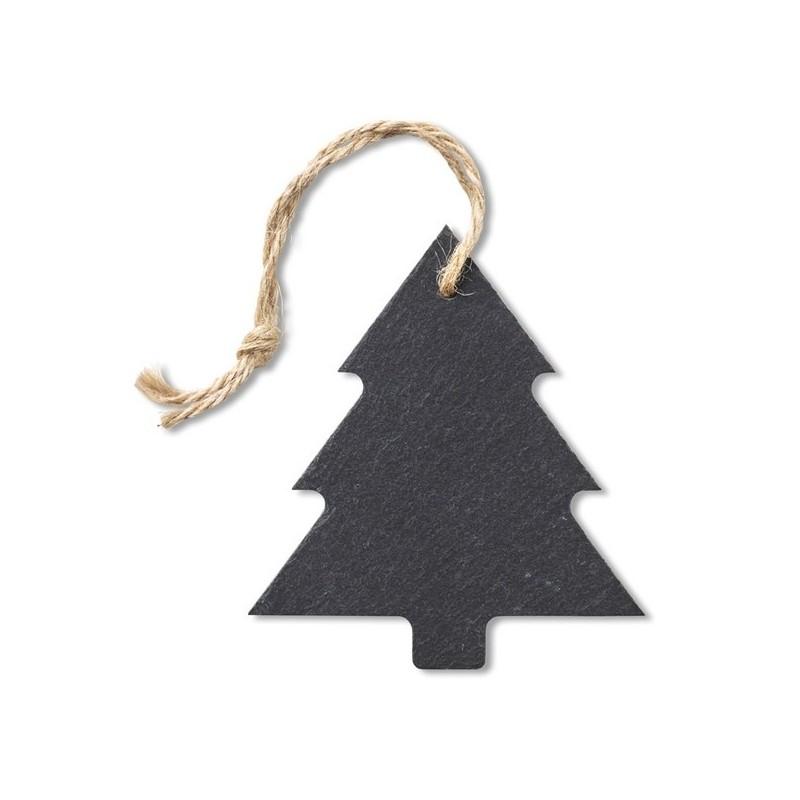 SLATETREE - Suspension arbre en ardoise - Accessoire de noël à prix grossiste