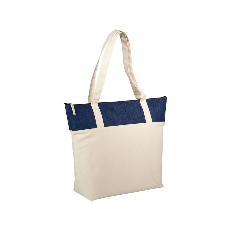 Sac shopping jute et coton 320 gr/m² Jones - Bullet - Sac en jute à prix grossiste