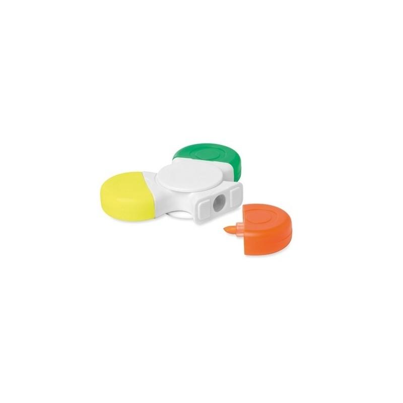 SPINMARK - Spinner avec 3 de couleurs à prix grossiste - Surligneur à prix de gros