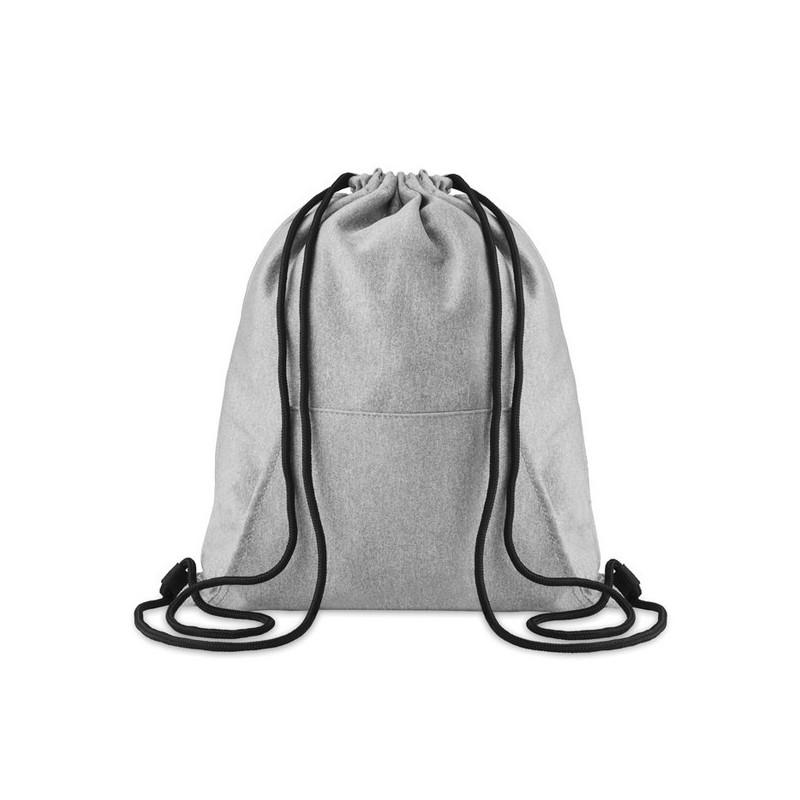 SWEATSTRING - Sac cordelette avec poche à prix de gros - Sac à prix grossiste
