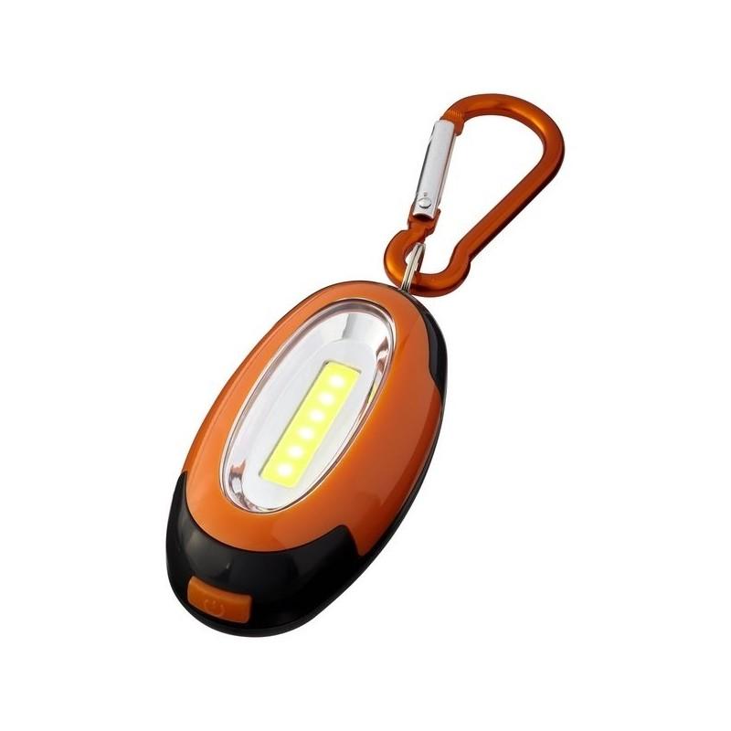 Lampe COB avec mousqueton Atria - Bullet - Lampe led à prix de gros
