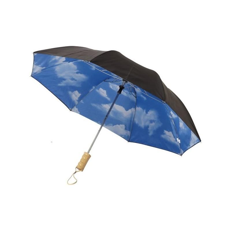 Parapluie pliable à ouverture automatique 21 Blue-skies - Avenue à prix grossiste - Parapluie classique à prix de gros