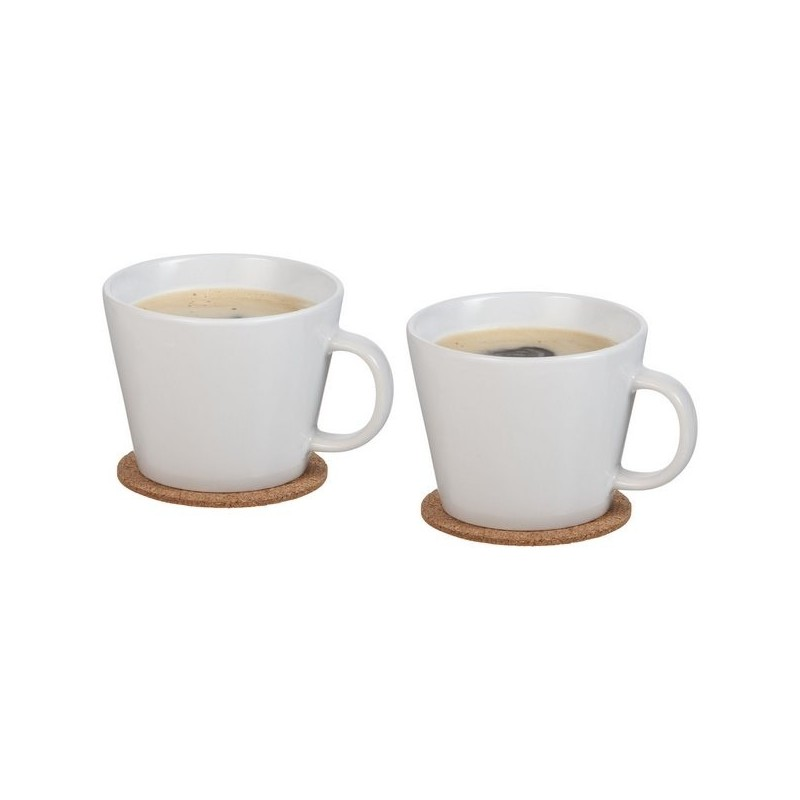 Ensemble de 2 tasses avec sous-tasse Hartley - Avenue à prix grossiste - Tasse à prix de gros