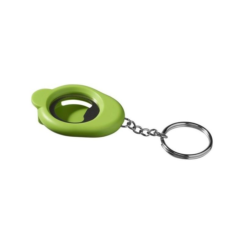 Porte-clés décapsuleur Cappi - Bullet à prix grossiste - porte-clés décapsuleur à prix de gros