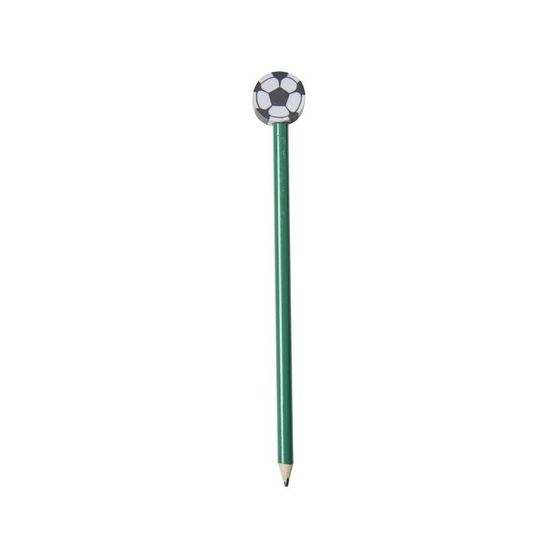 Crayon football Goal avec gomme en ballon - Bullet à prix de gros - Crayon à papier à prix grossiste