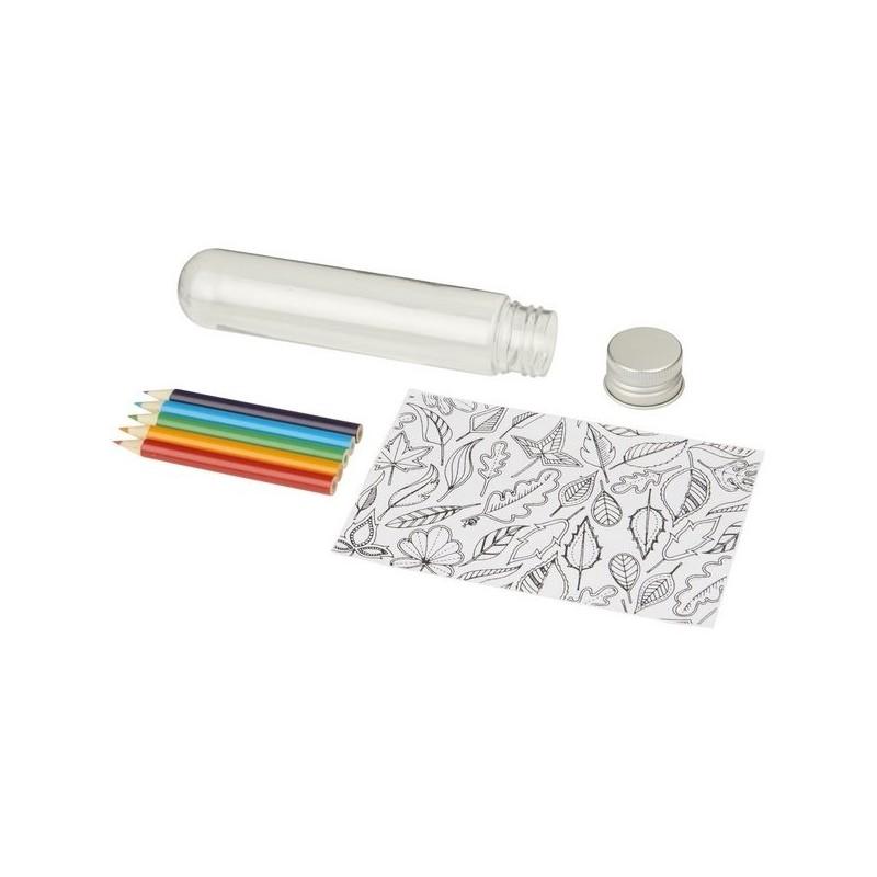 Mini set de griffonnage dans un tube Cami - Bullet - Crayon de couleur à prix grossiste