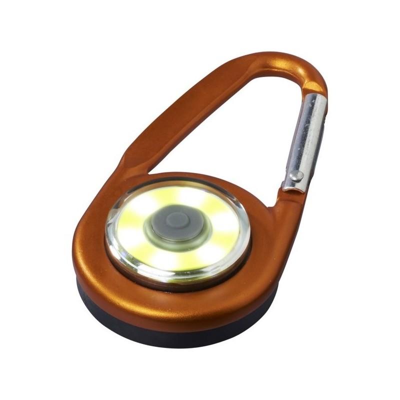 Mousqueton avec lampe COB Eye - Bullet à prix grossiste - Lampe led à prix de gros