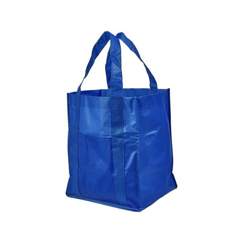 Sac shopping laminé - Bullet à prix grossiste - Sac à provisions à prix de gros