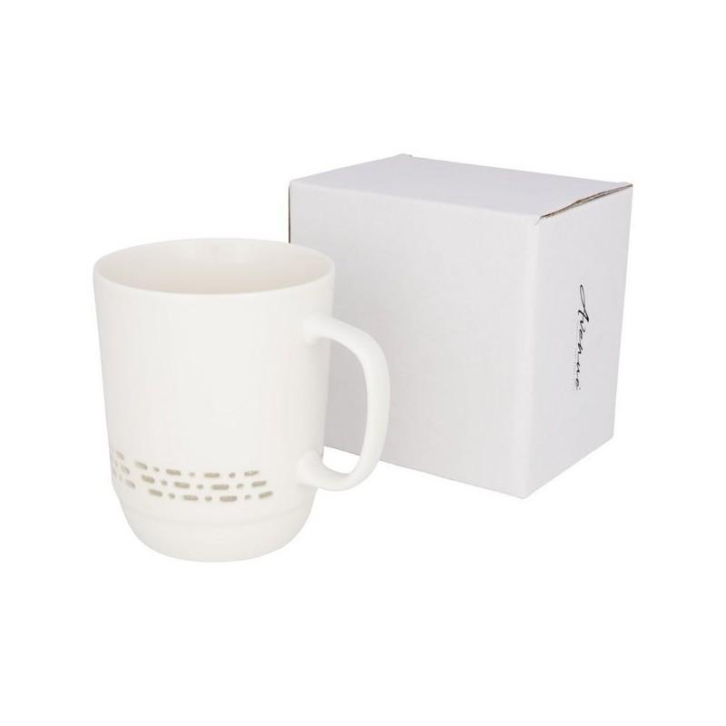Tasse en céramique transparente 470ml - Avenue à prix de gros - mug en céramique ou porcelaine à prix grossiste