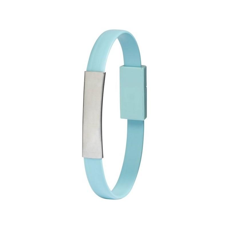 Câble de chargement 2 en 1 Bracelet - Bullet - bracelet silicone à prix grossiste