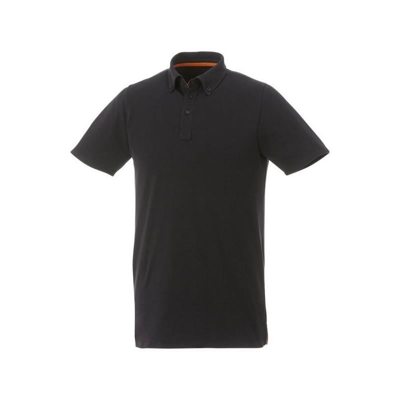 Polo boutonné manches courtes homme Atkinson - Elevate à prix grossiste - Polo manches courtes à prix de gros