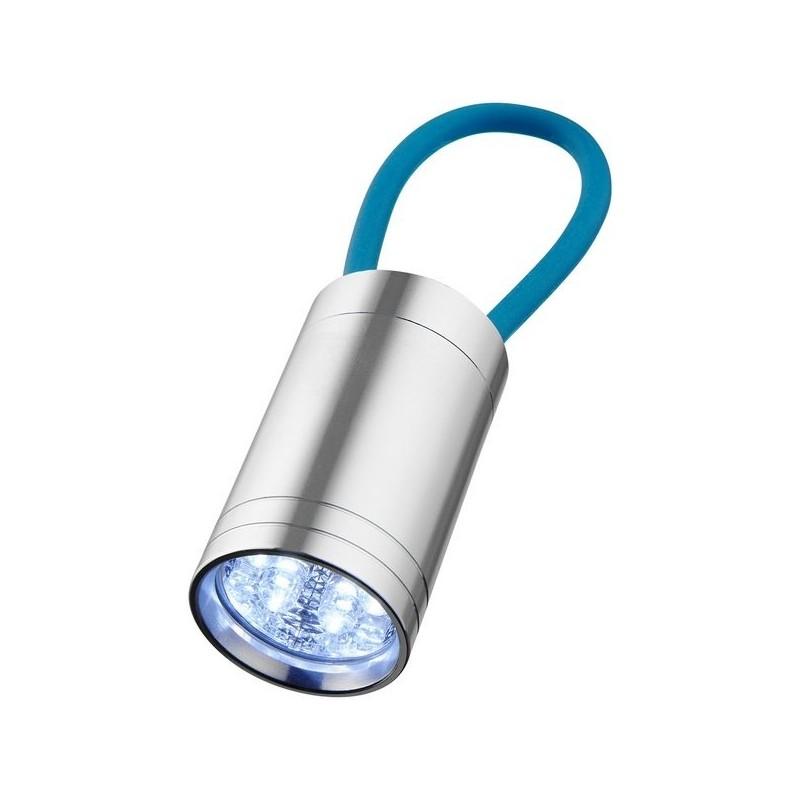 Lampe torche 6 LED avec dragonne lumineuse Vela - Bullet à prix de gros - Lampe torche à prix grossiste