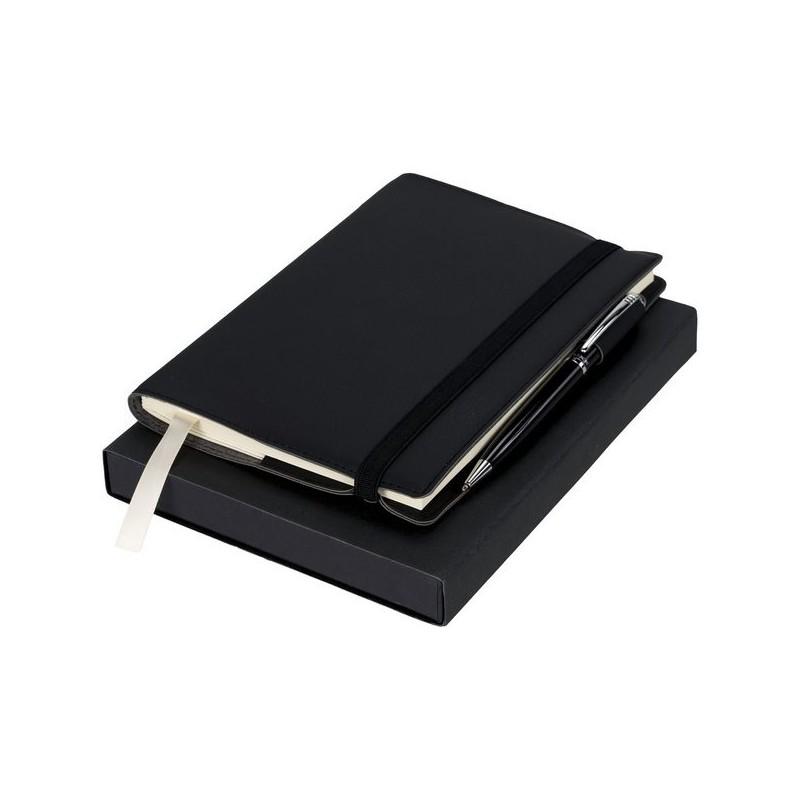 Carnet avec coffret cadeau stylo Aria - Luxe à prix grossiste - carnet à prix de gros