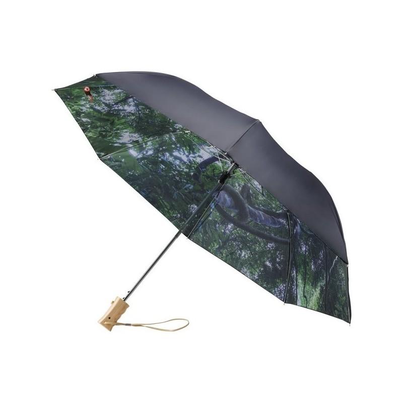 Parapluie pliable à ouverture automatique 21 Forest - Avenue à prix de gros - Parapluie compact à prix grossiste