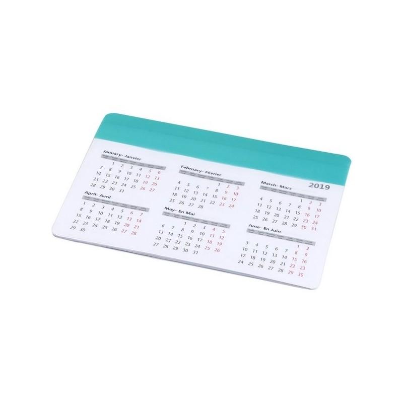 Tapis de souris avec calendrier Chart - Bullet à prix grossiste - Tapis de souris à prix de gros