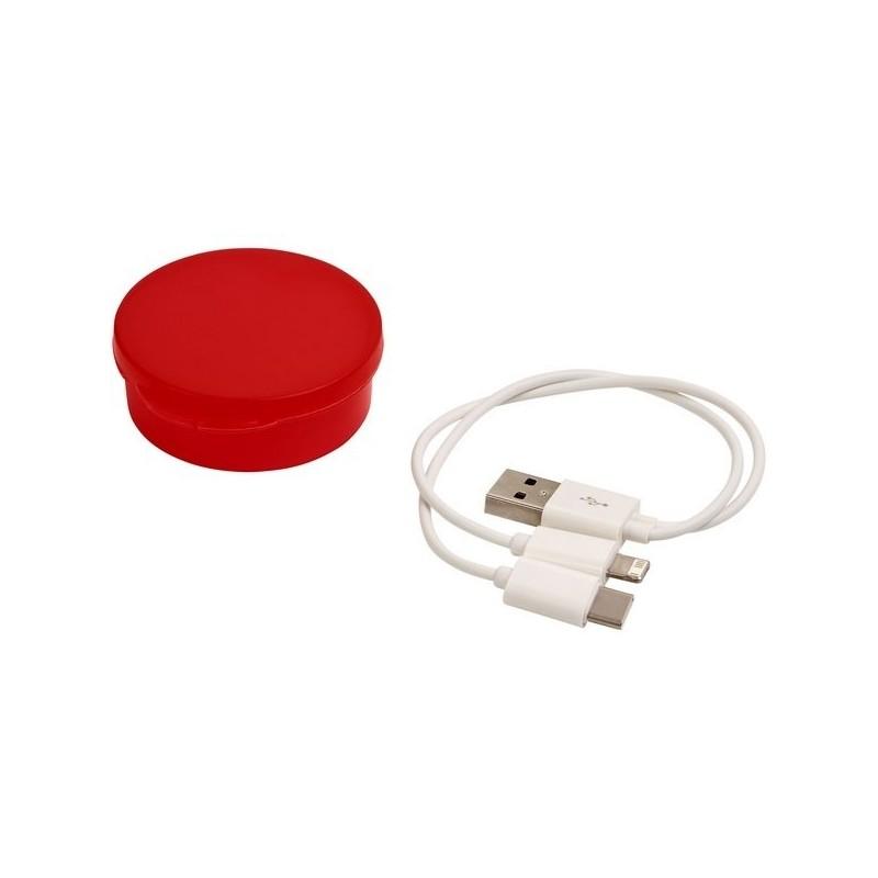 Câble de recharge Versa 3-en-1 dans un étui - Bullet - Cable de charge à prix de gros