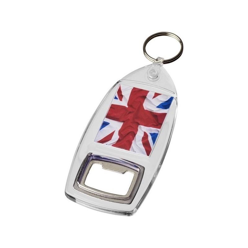 Porte-clés R6 avec décapsuleur Kai - PF Manufactured à prix grossiste - porte-clés décapsuleur à prix de gros