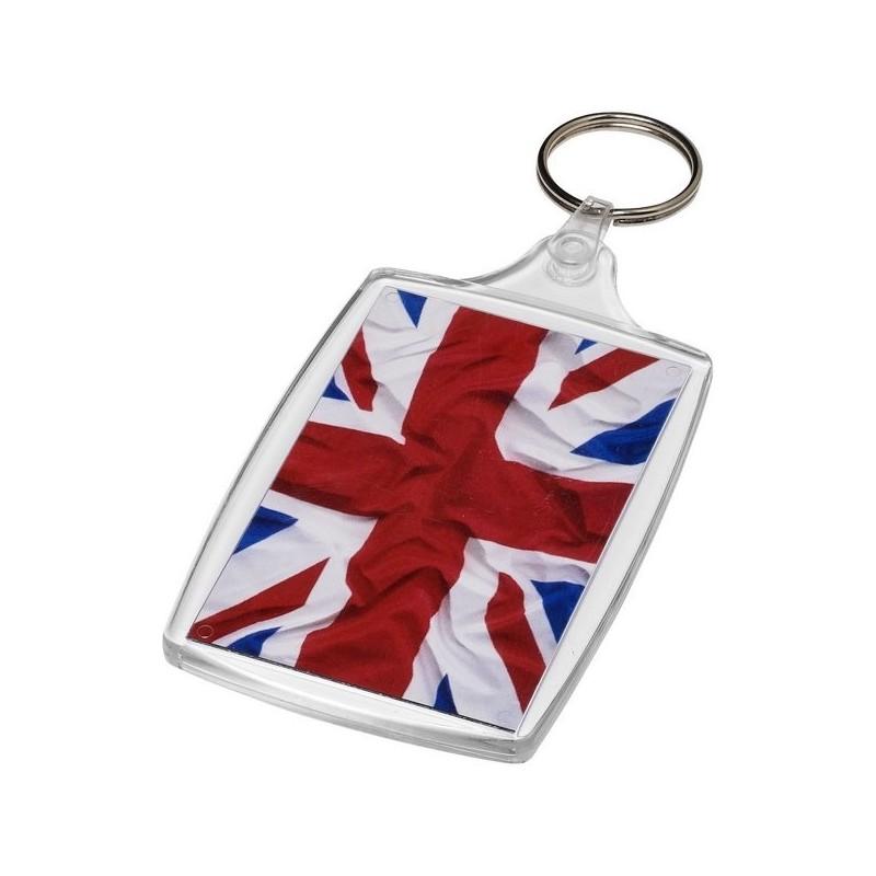 Grand porte-clés L6 avec attache plastique Baiji - PF Manufactured - porte-clés photo à prix grossiste