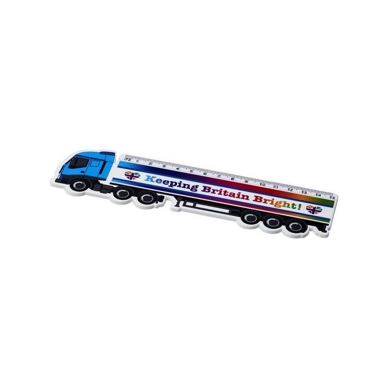 Règle en plastique Loki 15 cm en forme de camion - PF Manufactured - Règle à prix de gros