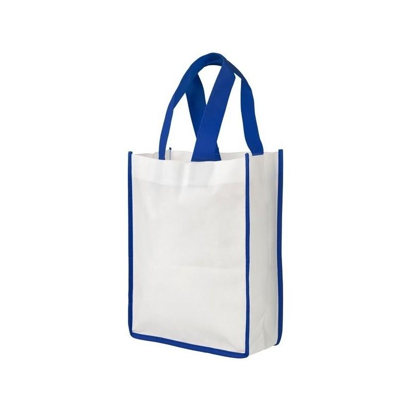 Petit sac shopping non tissé Contrast - Bullet - Sac shopping à prix de gros