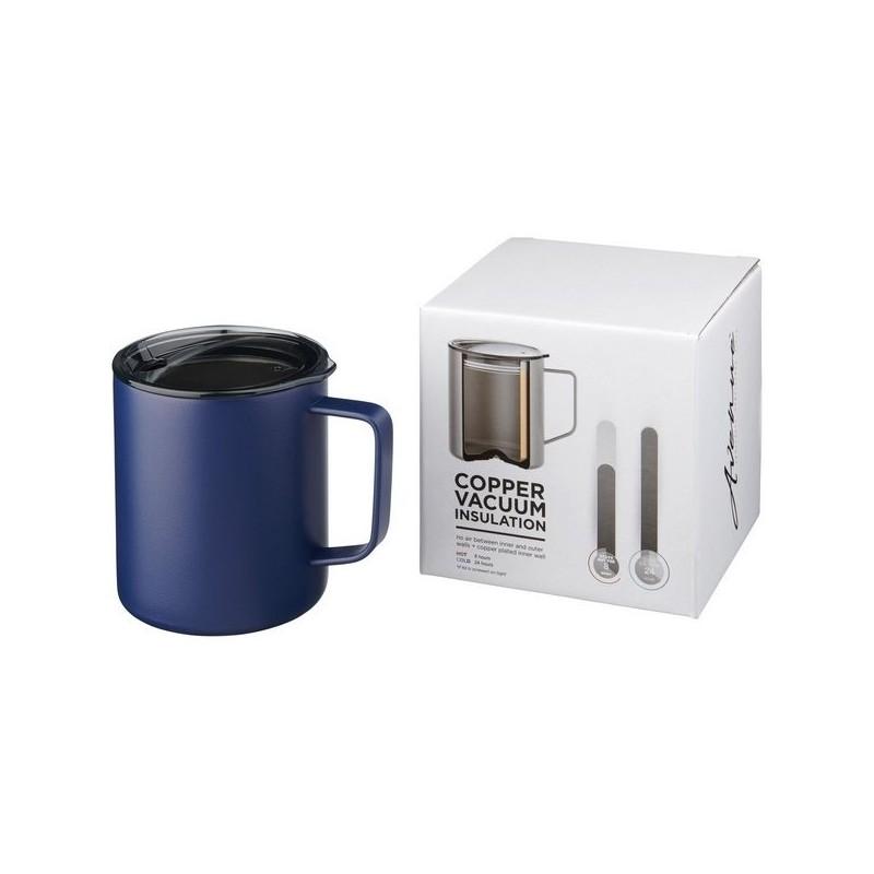 Mug 420ml avec isolation par le vide et couche de cuivre Rover - Avenue - Mug isotherme à prix grossiste