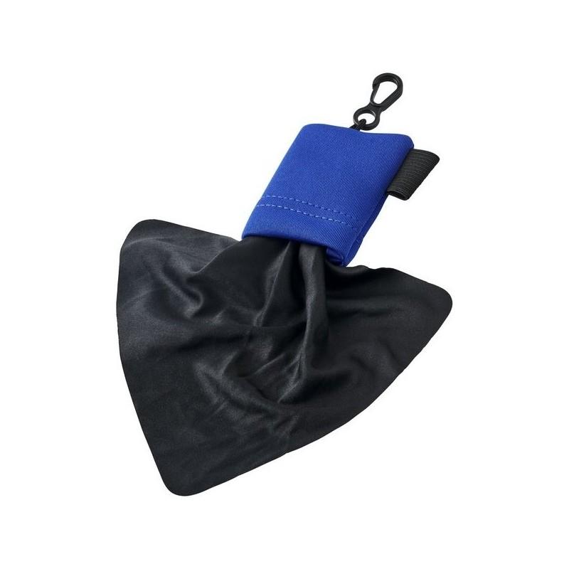 Chiffon de nettoyage en microfibre Clear avec pochette - Bullet - Pochette à lunettes à prix de gros