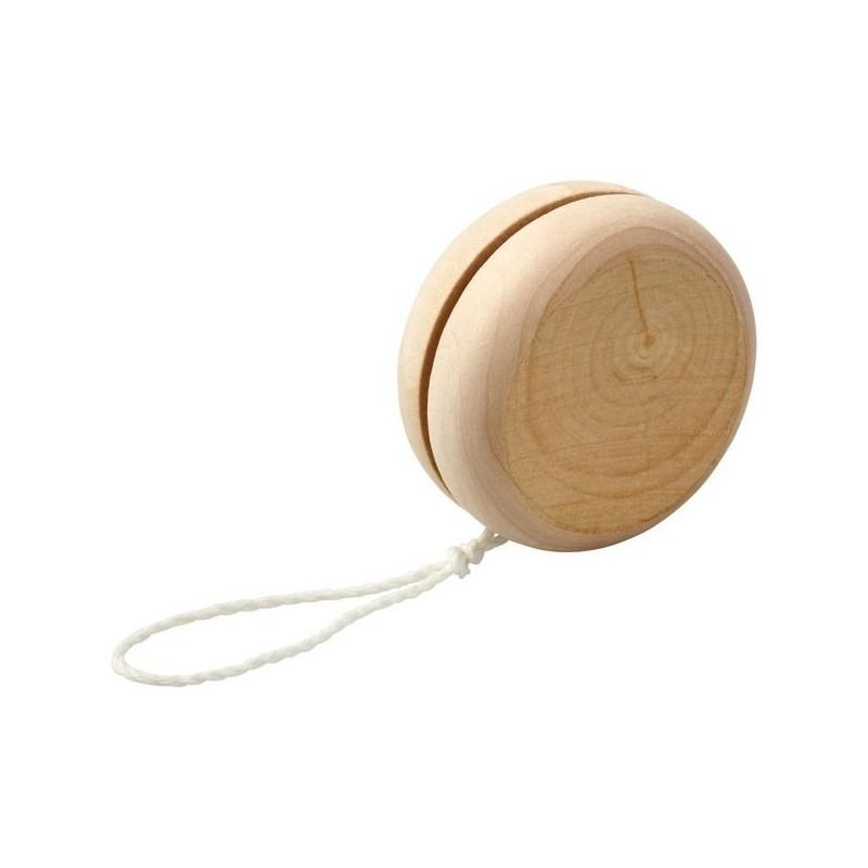 Yoyo en bois Woodpecker - Bullet à prix grossiste - Jouet en bois à prix de gros