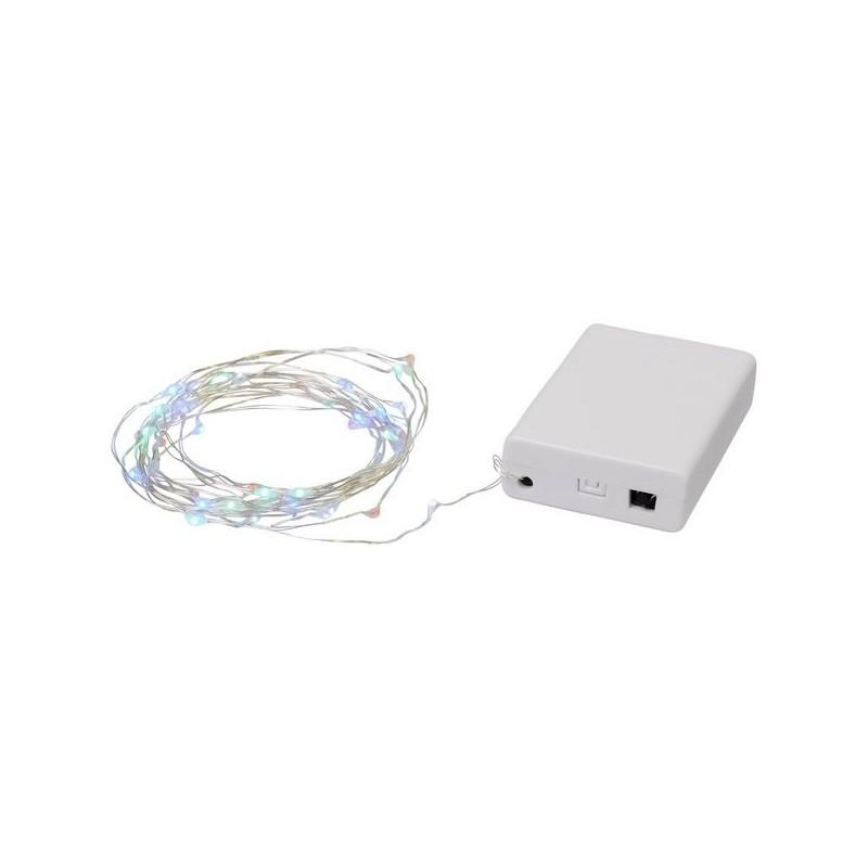 Guirlande activée par le son de 50 LED Pulse - Bullet à prix grossiste - Accessoire de noël à prix de gros