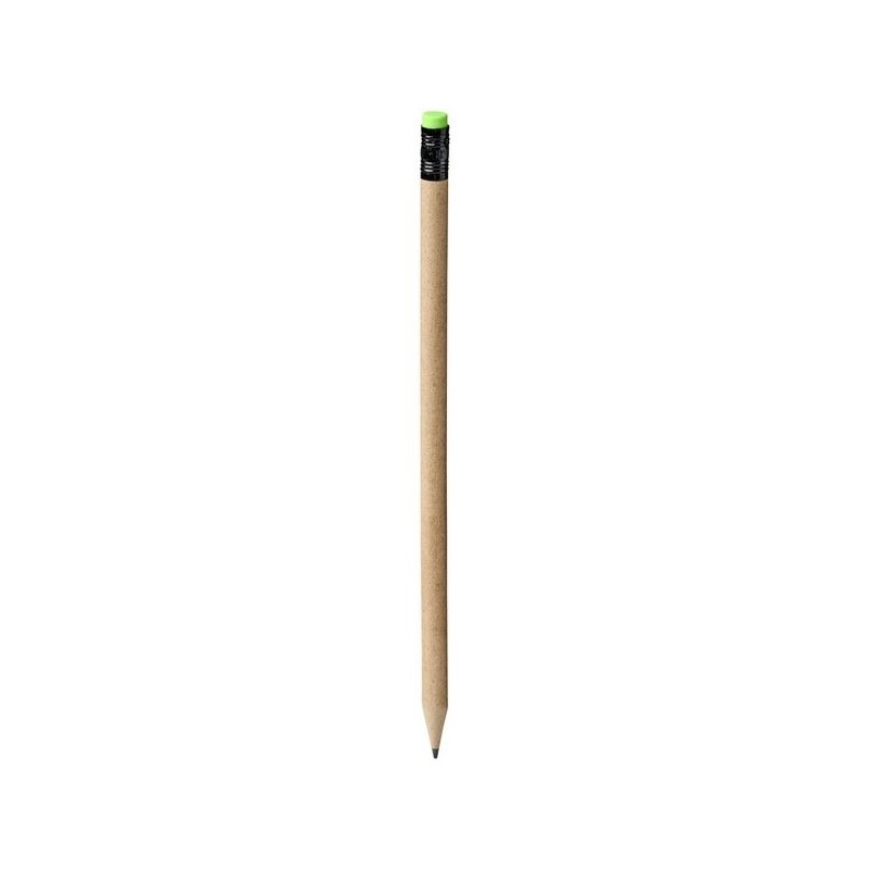Crayon en papier recyclé Asilah - Bullet - Crayon à papier à prix de gros