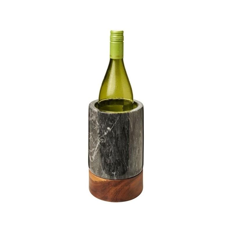 Seau à vin en marbre et bois Harlow - Avenue à prix de gros - Seau à glace à prix grossiste