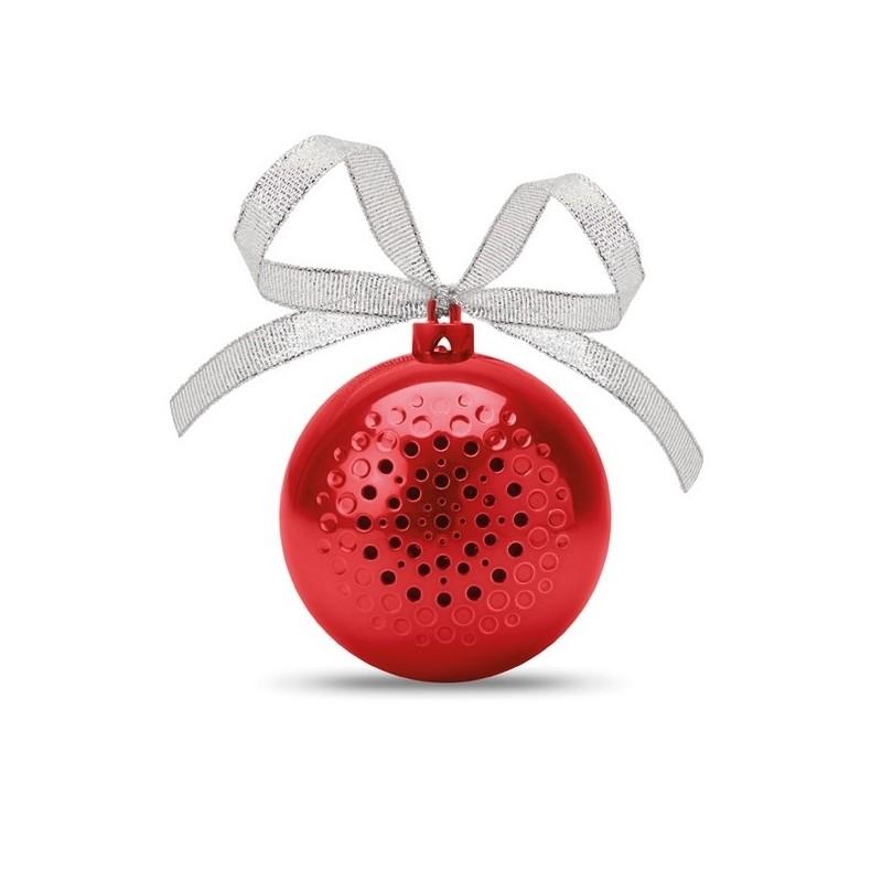 JINGLE BALL - Haut parleur boule de Noël à prix grossiste - Boule de Noël à prix de gros