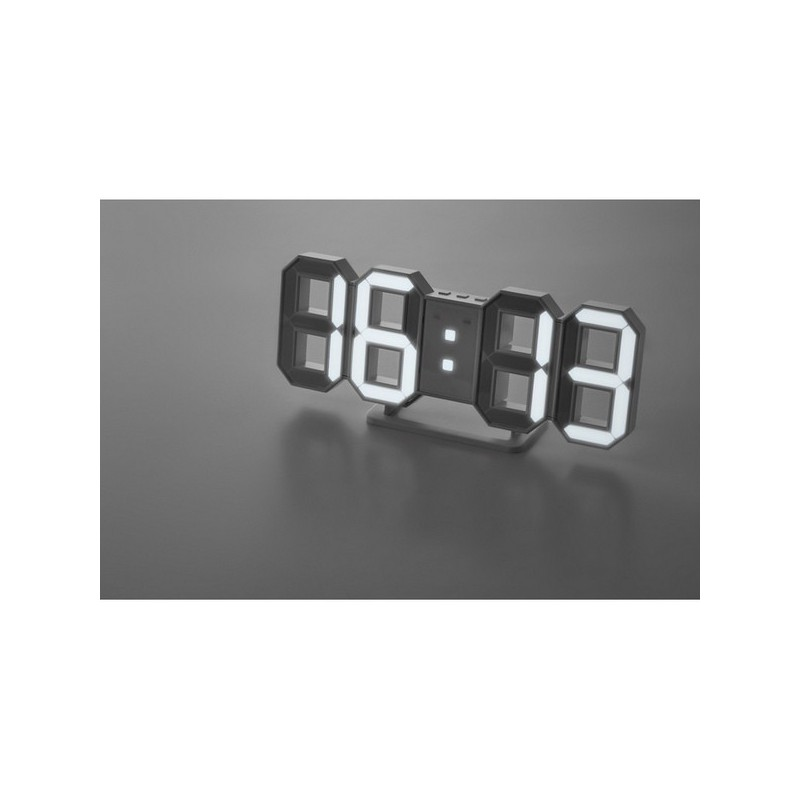 COUNTDOWN - Horloge LED avec adaptateur sec à prix de gros - Horloge à prix grossiste