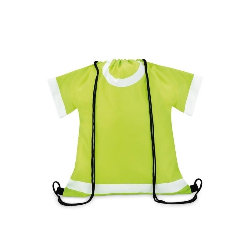 T-DRAW - Sac à cordon polyester 210D. à prix grossiste - Vêtement de sécurité à prix de gros