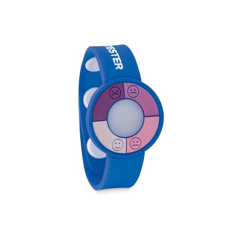UV CHECK - Bracelet en PVC capteur UV. - Bracelet à prix de gros