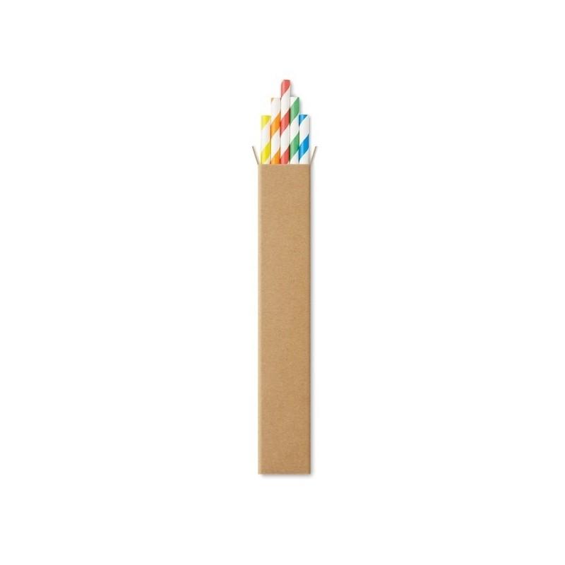 PAPER STRAW - 10 pièces de paille de papier - Paille réutilisable à prix grossiste