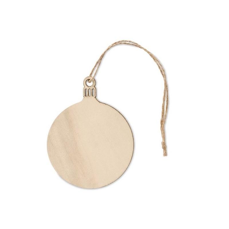 BALY - Décoration forme boule en MDF - Accessoire de noël à prix grossiste