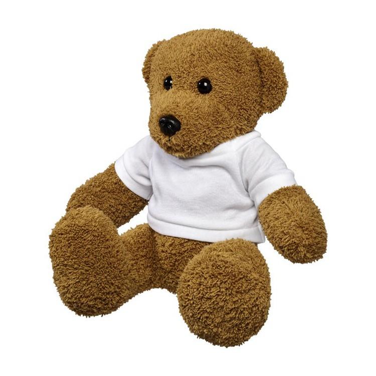 Ours en peluche Shrex grand modèle avec t-shirt à prix grossiste - Peluche à prix de gros