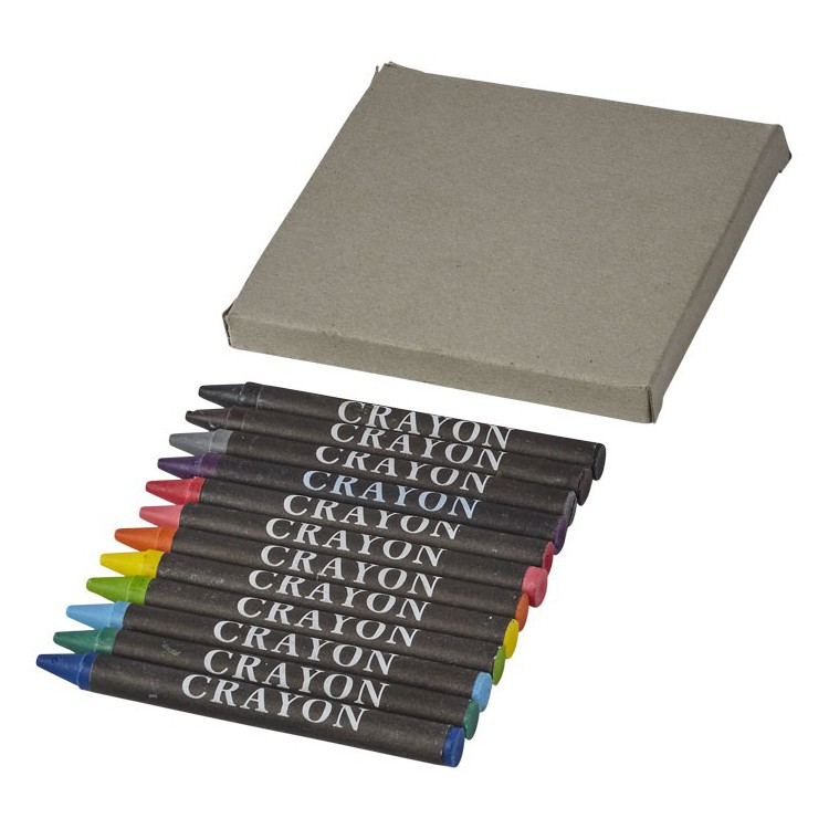 Set de 12 crayons gras Eon - Crayon cire à prix de gros