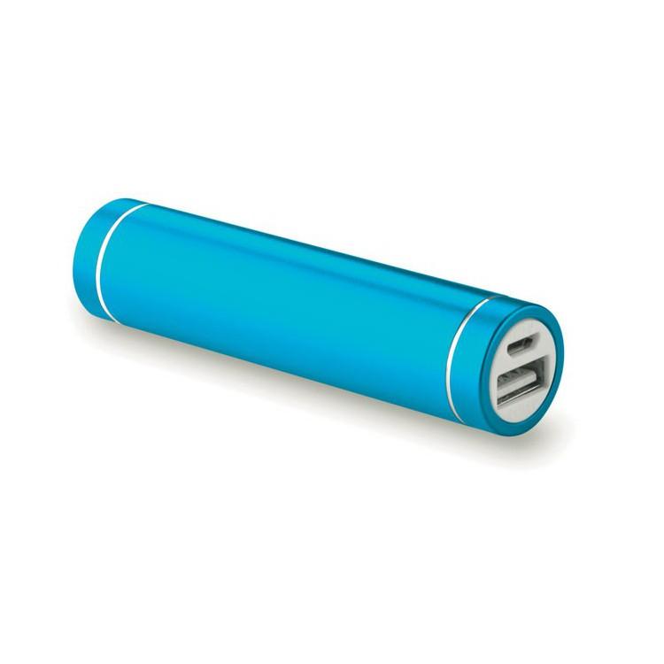 Batterie de secours en forme de cylindre à prix grossiste - Powerbank / batterie externe à prix de gros