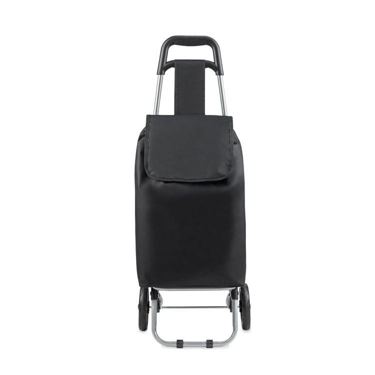 Cabas trolley en 600D à prix de gros - Sac à roulettes à prix grossiste