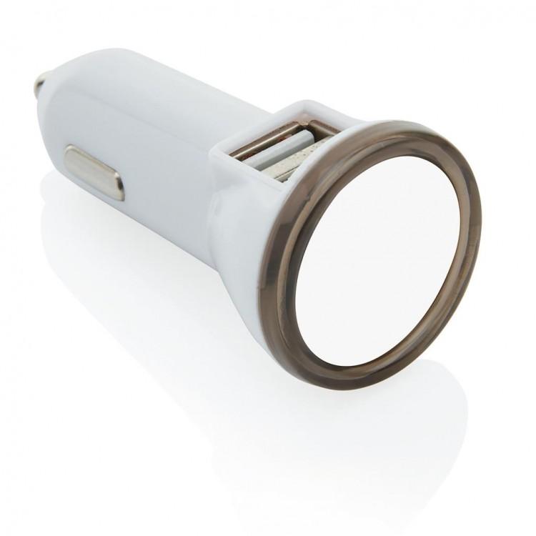 Double chargeur allume-cigare USB 2.1A à prix grossiste - Accessoire pour tablettes à prix de gros