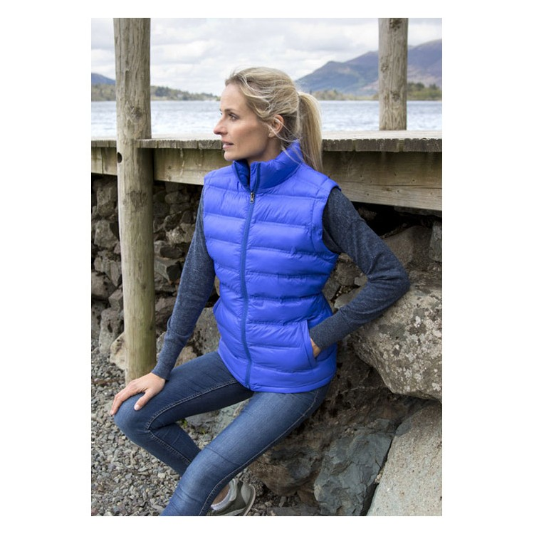 Ladies Ice Bird Padded Gilet - Bodywarmer à prix grossiste